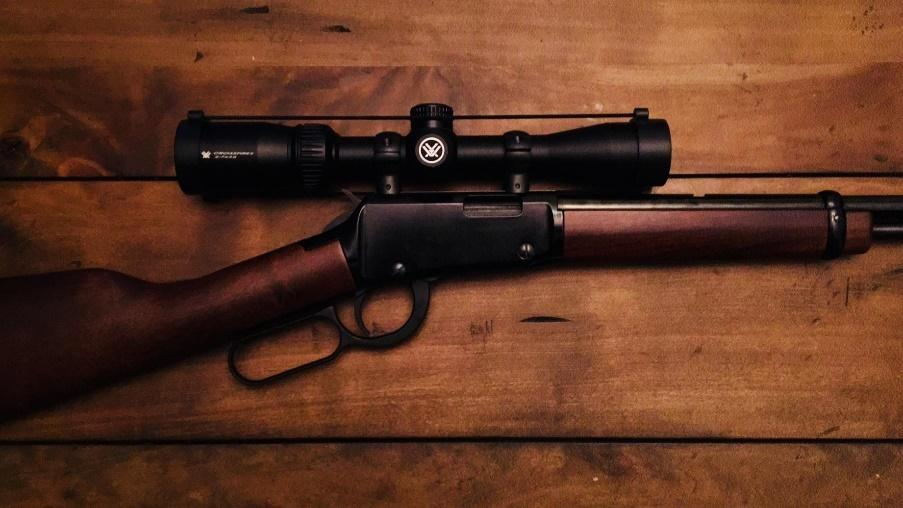 Image result for how to mount a scope on a henry 22 rifle