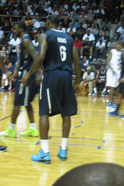 LBJ Rocking 8220South Beach8221 8 PS in Exhibition Game in Philly