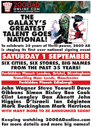 2000Ad National Signing Event