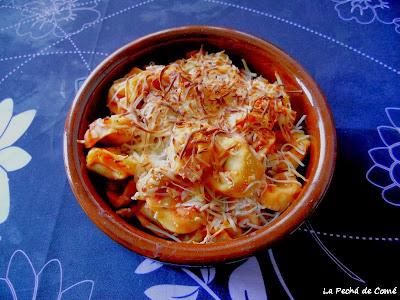 Tortellinis de Gorgonzola y Nueces