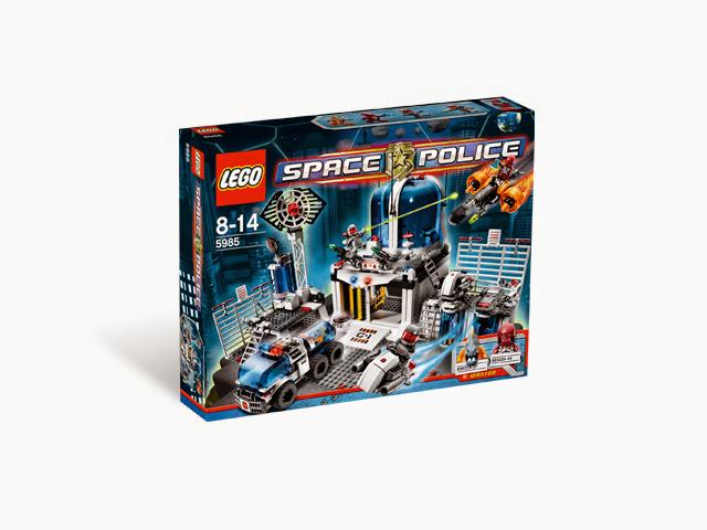 5985 レゴ スペースポリス ポリス・セントラル