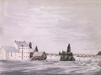 Rideau Falls. 1839