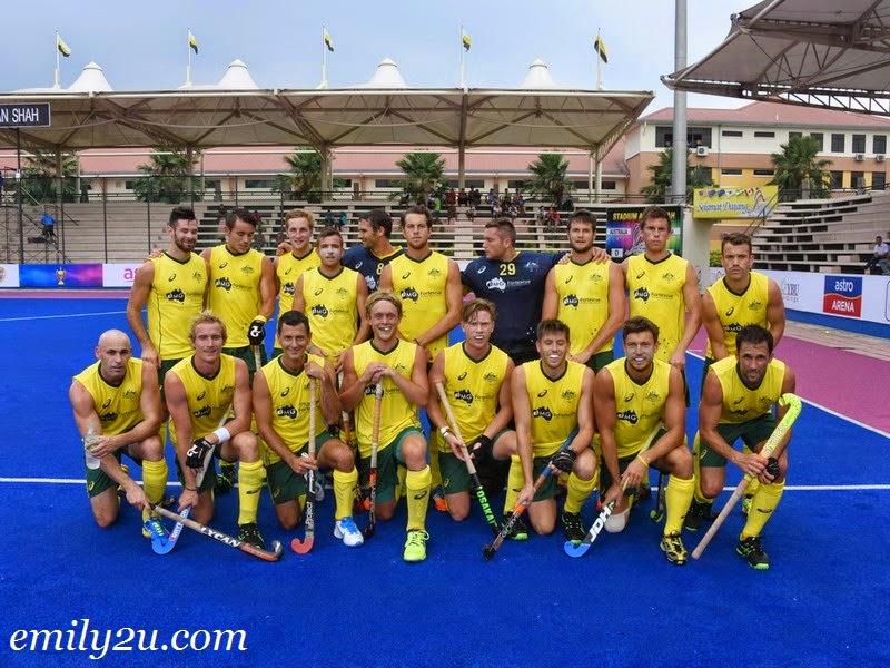 2015 Sultan Azlan Shah Cup – Match 1 – Australia (7) - Canada (0)