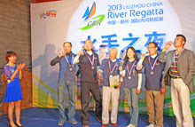 J/80 winners in china river regatta