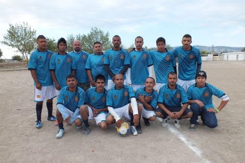 Equipo T-800 en el futbol municipal de segunda fuerza