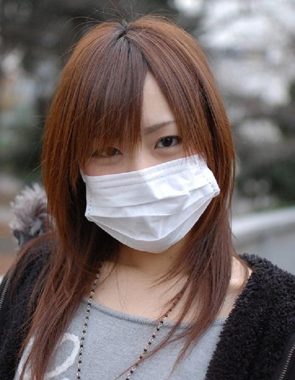 Masker barang fashion di Jepang