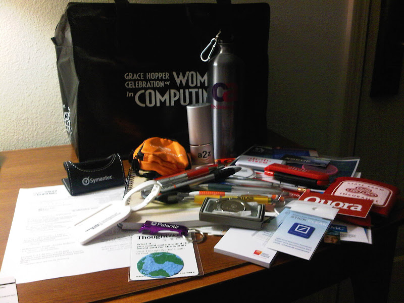 Lots of Goodies From the Conference!