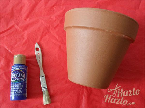 Como decorar una maceta