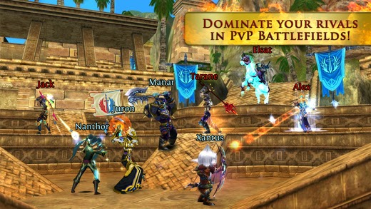 Order & Chaos Online v2.6.0 for iPhone/iPad