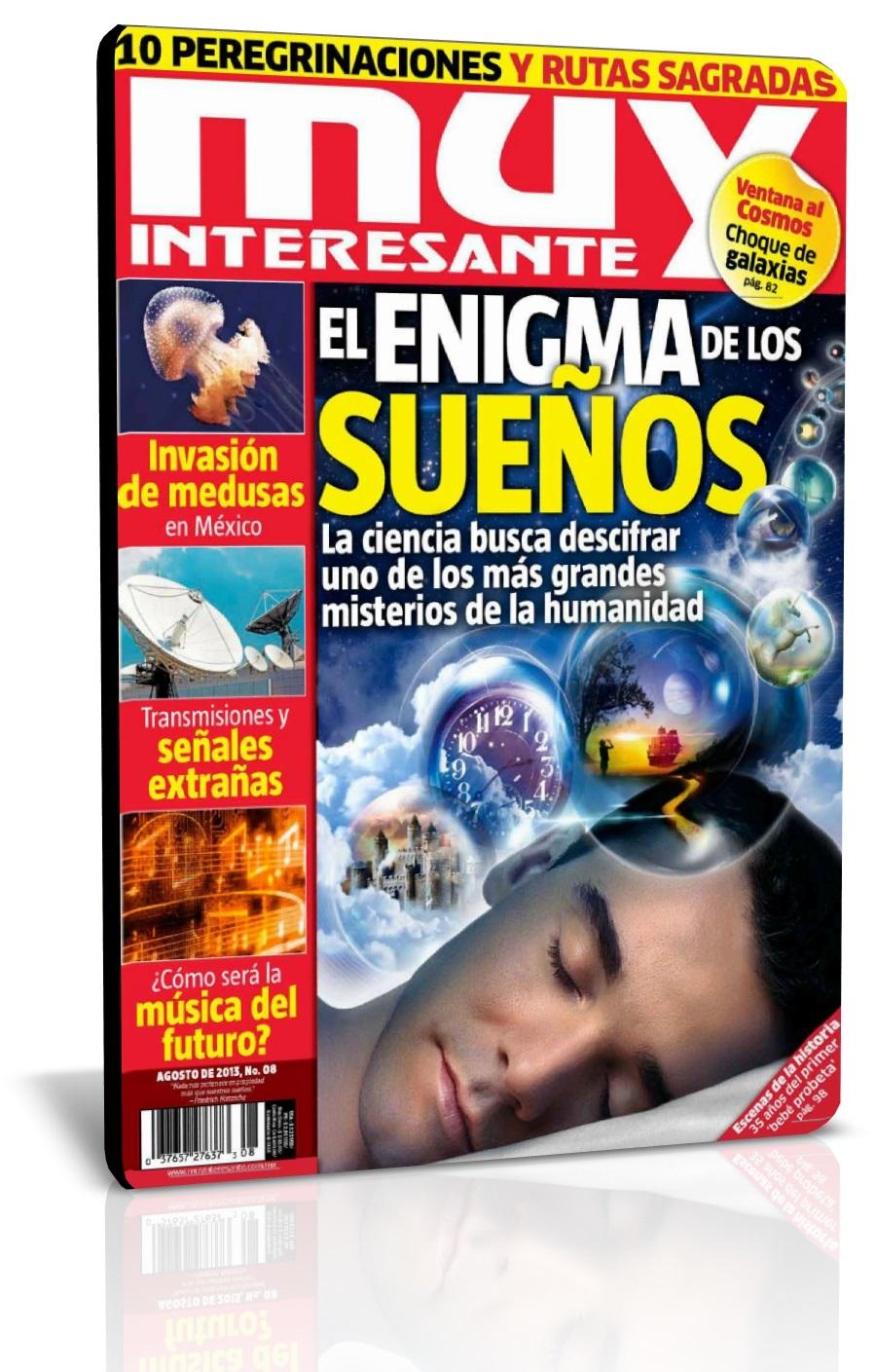 Revista Muy Interesante México, Agosto 2013 – MUY BUENA!!