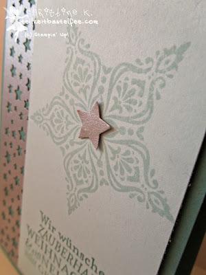 Stampin' Up! Christmas, Weihnachten, Weihnachtskarte, Zauber der Weihnacht, Bright & Beautiful, Merry Minis, Konfetti Sterne, Confetti Stars