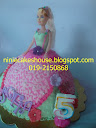 Barbie Doll with Fondant Deco