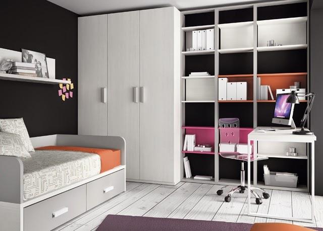 Dormitorios juveniles kids touch ros for Habitaciones juveniles cama 105