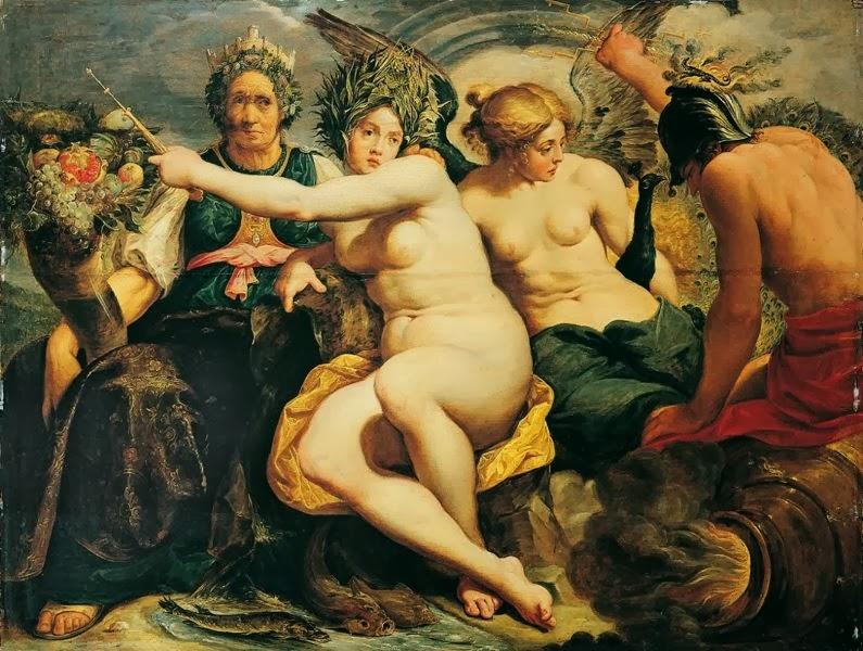 Abraham Janssens - Allegorie der vier Elemente