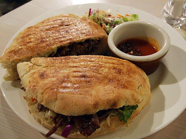 Doner kebab beef sandwich