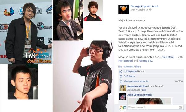 Orange Neolution công bố đội hình mới 1