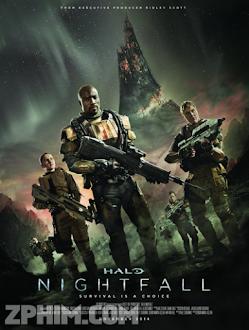 Cuộc Chiến Ngoài Hành Tinh - Halo: Nightfall (2014) Poster