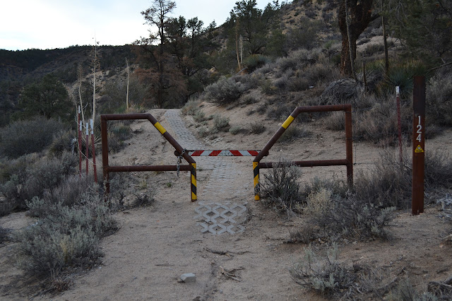 gate on OHV route