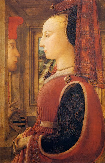 Filippino Lippi - Portrait of a Man and a Woman