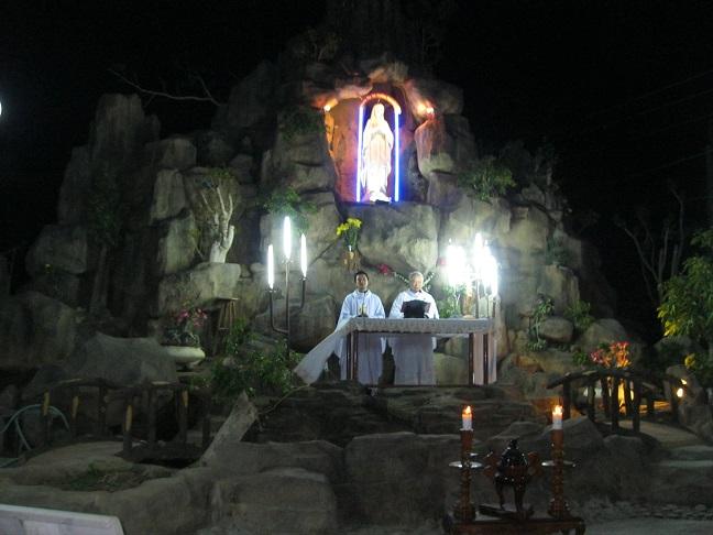 Giáo xứ Tân Hội : Lễ Đức Mẹ Lộ Đức - Ngày Quốc Tế Bệnh Nhân - Chút Cảm Nghĩ