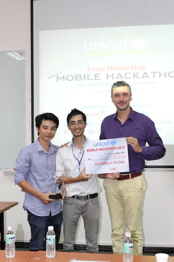 UNICEF Mobile Hackathon 2013 công bố kết quả 3