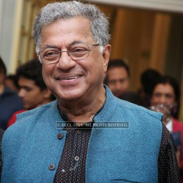 Girish Karnad attends the book launch of Maya Rao's autobiography, titled Maya Rao - A Lifetime in Choreography at ITC Windsor, Bangalore.