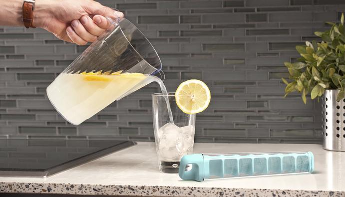 *輕鬆用拉的製冰器 Cube Tube:衛生與便利來自Quirky設計團隊! 5