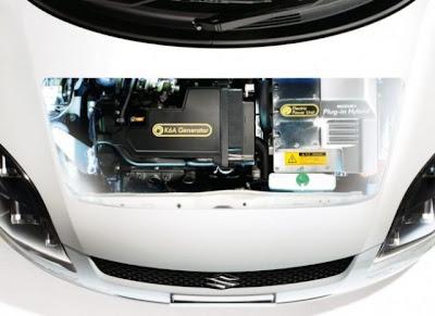 Подключаемый гибрид Suzuki Swift Plug-in Hybrid