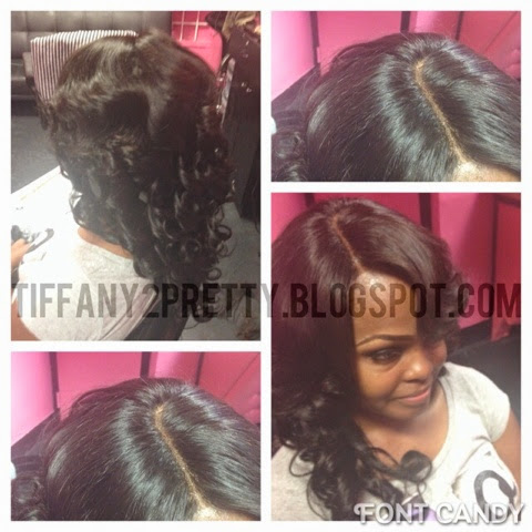 deep side part pronto weave how to make do everything long