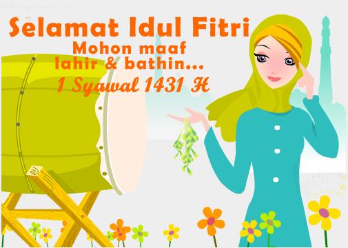 Ucapan Hari Raya Idul Fitri 1431 H