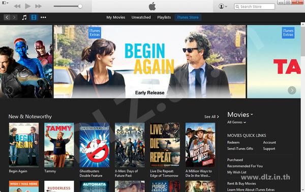 ดาวน์โหลด iTunes 12 โหลดโปรแกรม iTunes ล่าสุดฟรี