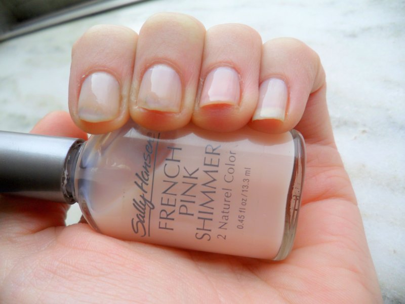 The Origin of Wonder: Nail Polish of the Week (4): French Pink Shimmer