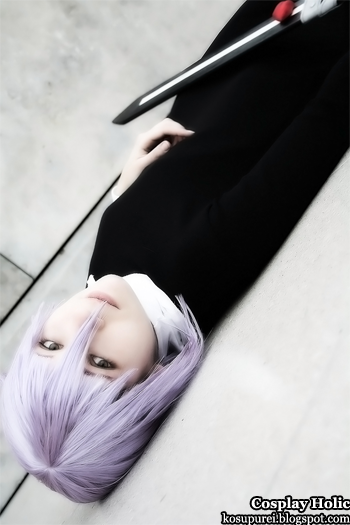soul eater cosplay - crona 2