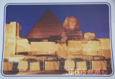 postcards, Postcrossing Enthusiasts, Egypt
