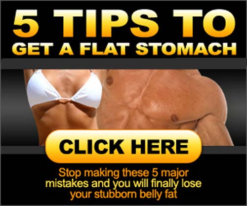 5 Tips to Lose Stomach Fat