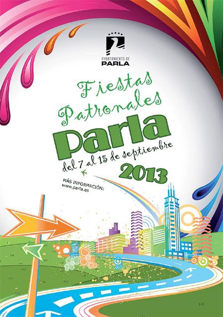 Programación Fiestas Patronales de Parla 2013, del 7 al 15 de septiembre
