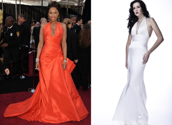 Inspired Weddings Wedding Dress Inspirations From The Oscars 2011 Looks Part 2