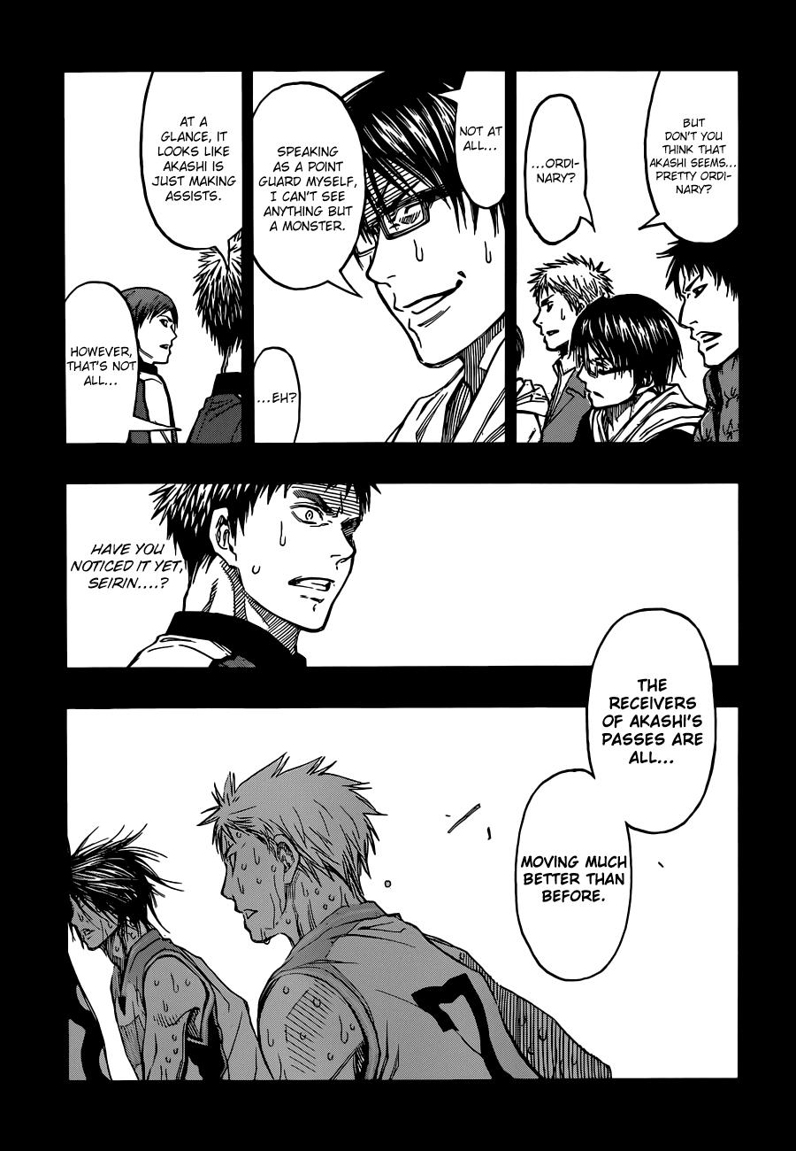 Kuroko no Basket Manga Chapter 268 - Image 04