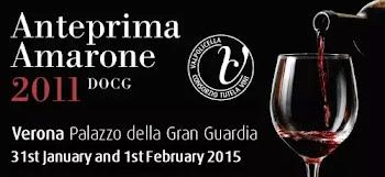 Anteprima Amarone Annata 2011   31 Gennaio e 1 Febbraio Verona