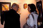 Juan Grecos con Dale Kavanagh en la III Exposición de Pintura, dentro de las IX Jornadas de Guitarra de Valencia