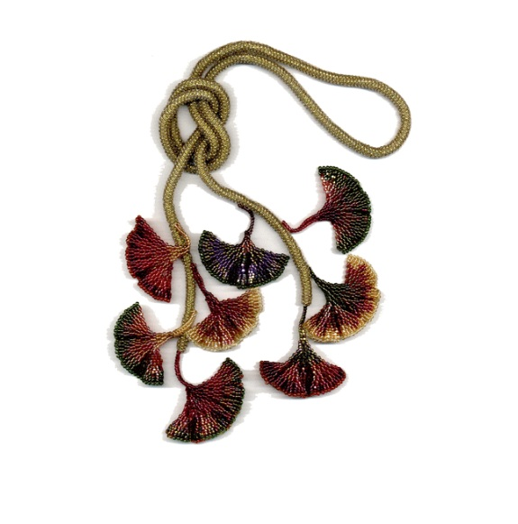Gingko Leaf Necklace by Diane Fitzgerald