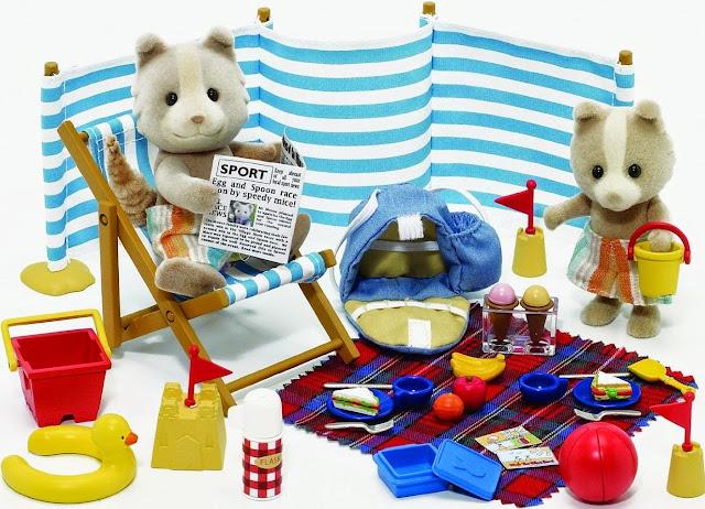 Hình ảnh phong phú, sinh động của đồ chơi Sylvanian Families - Anh em nhà Gấu