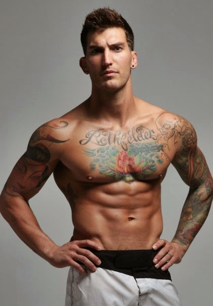 Adam Von Rothfelder - Hot Handsome MMA Fighter