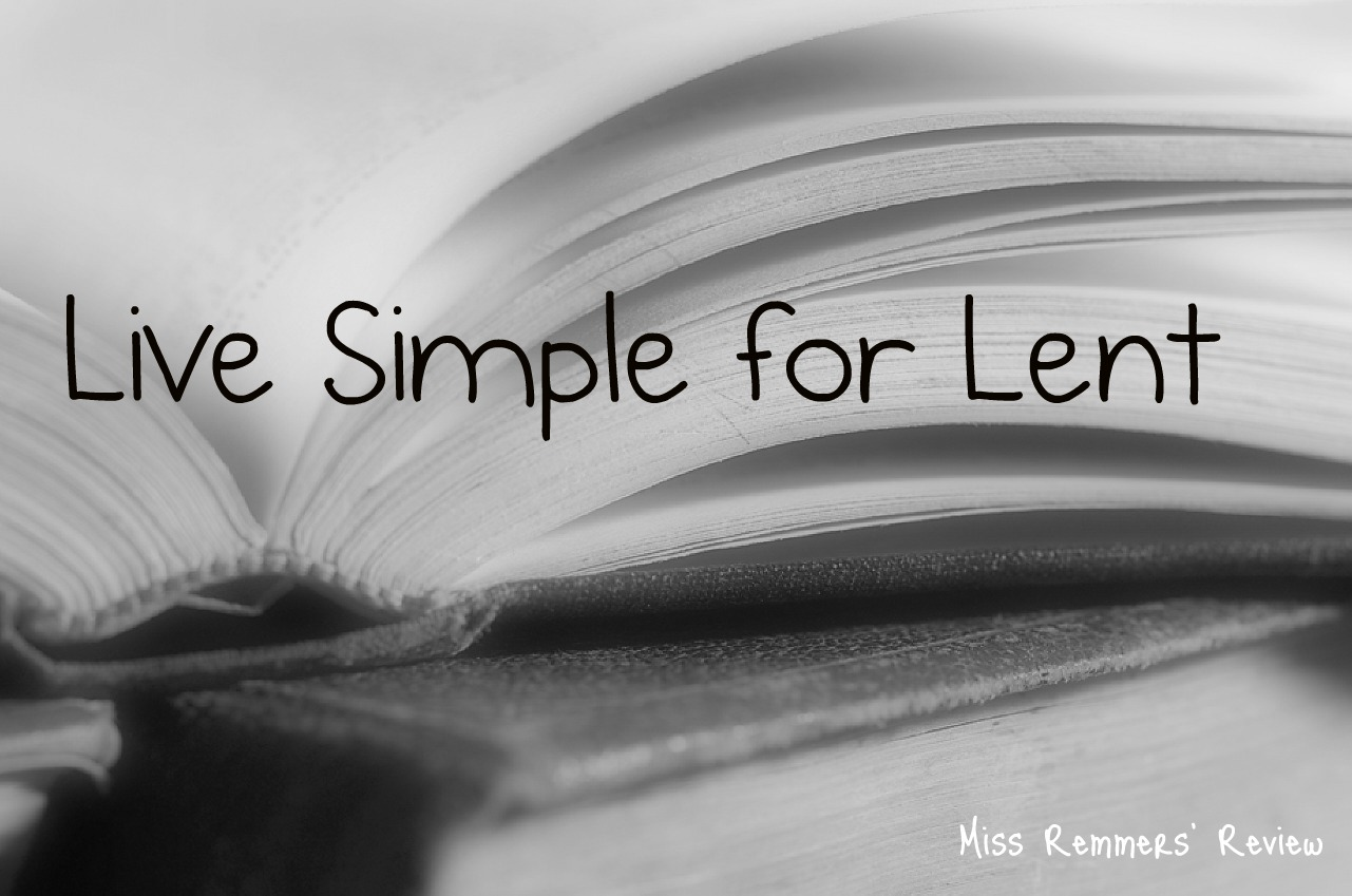 Live Simple For Lent