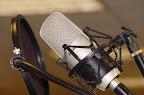 Image of a radio microphone illustrating the prank call made by radio jocks