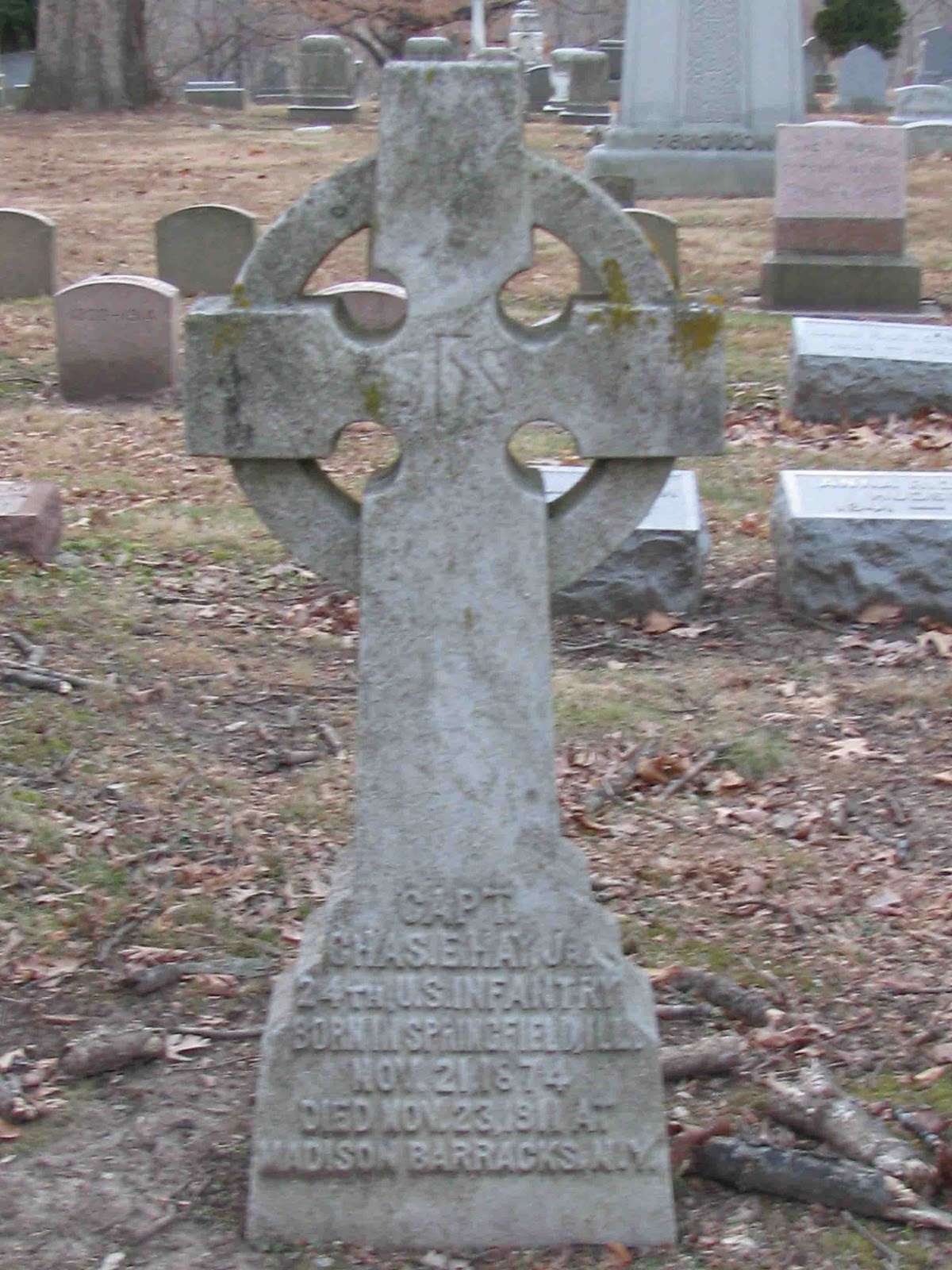 A Grave Interest The Celtic Cross In The Cemetery