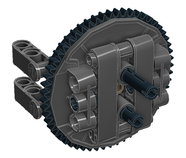 Planetary Geared Wheel 07