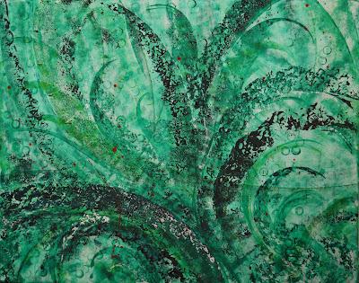 Flora, Acrylic on Canvas, 150x120cm