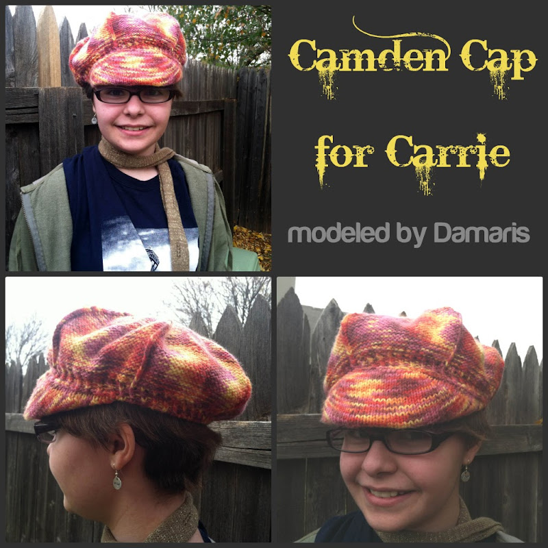 Camden Cap for Carrie