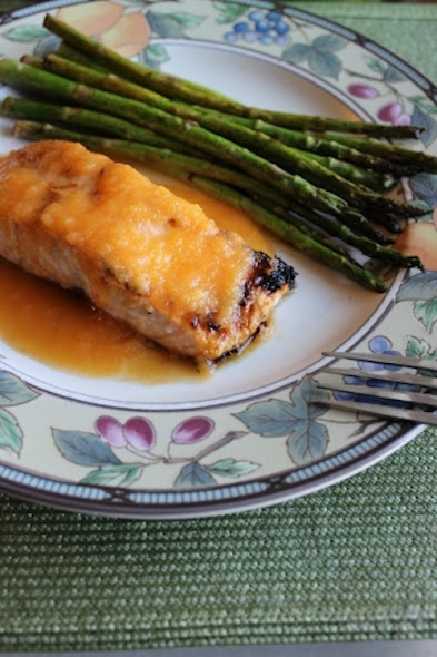Grilled Salmon with Spicy Pineapple-Citrus Sauce by Learn From Yesterday, Live For Today
